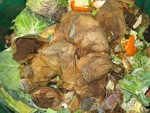 Scraps can be used in an outdoor compost container, compost pile or an indoor compost bin