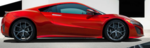 The starting price for the Acura NSX hybrid is $156,000.