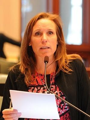 State Rep. Barbara Wheeler (R-Crystal Lake)