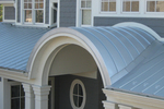 Metal roofs come in a wide variety of styles and applications these days.