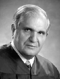 Retired judge Nicholas Byron
