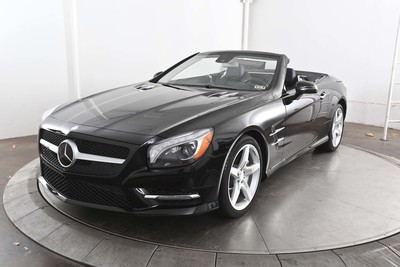 The Mercedes Benz SL400 is a convertible with lots of power and style