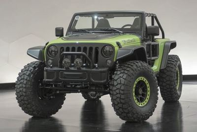 If you want a 707-horsepower Jeep Wrangler, youÕll just have to go out and build one yourself.