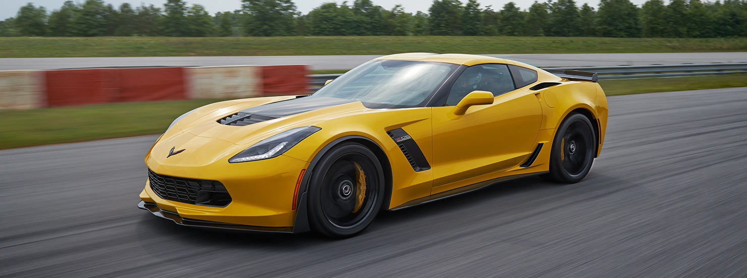 The 2016 Corvette Z06 is designed with speed and style in mind.