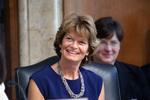 U.S. Sen. Lisa Murkowski (R-AK), chairman of the U.S. Senate Committee on Energy and Natural Resources, was among those critical of the Obama Administration's decision to emove two Alaska oil lease sales – one each in the Beaufort and Chukchi seas – from