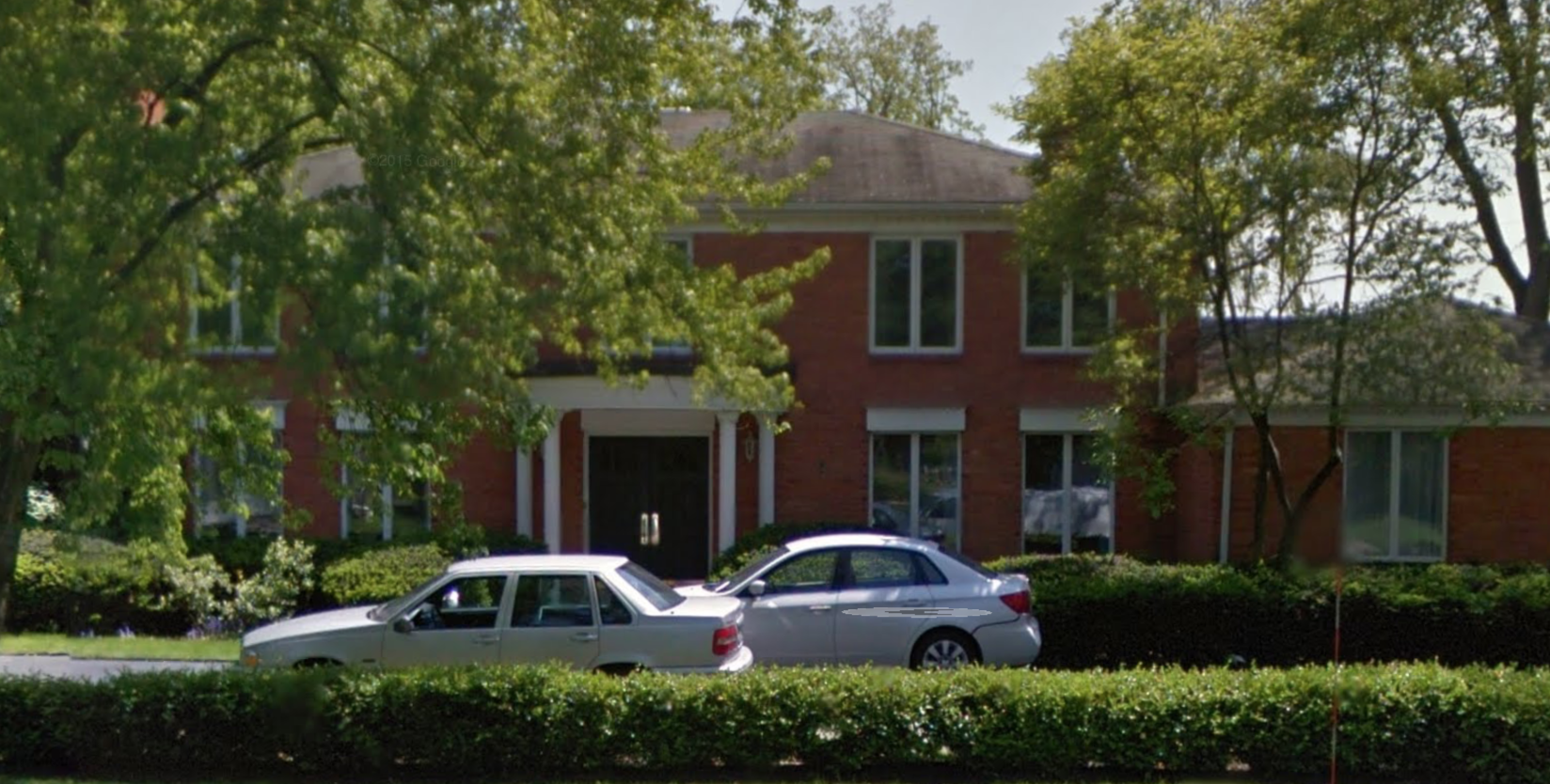 Kevin W. Graham, a Chicago police officer vying to head the officer's union, owns this Lincolnshire home. CPD has a requirement that all officers must live in Chicago.