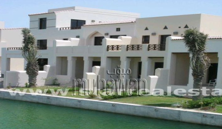 A three bedroom villa is available on Amwaj Island.