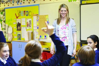 Medium stock teacher classroom