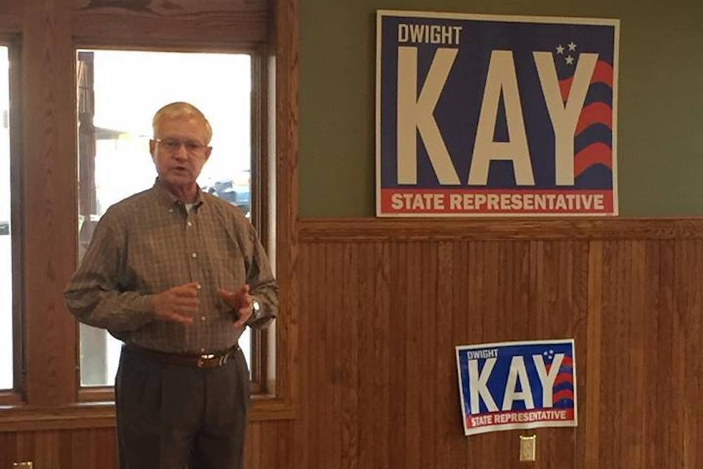 GOP state House candidate Dwight Kay