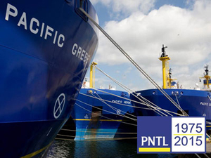 Pacific Nuclear Transport Limited celebrates 40 years in operation.