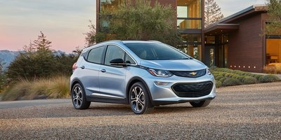 The Chevrolet Bolt has a range of up to 238 miles per charge.