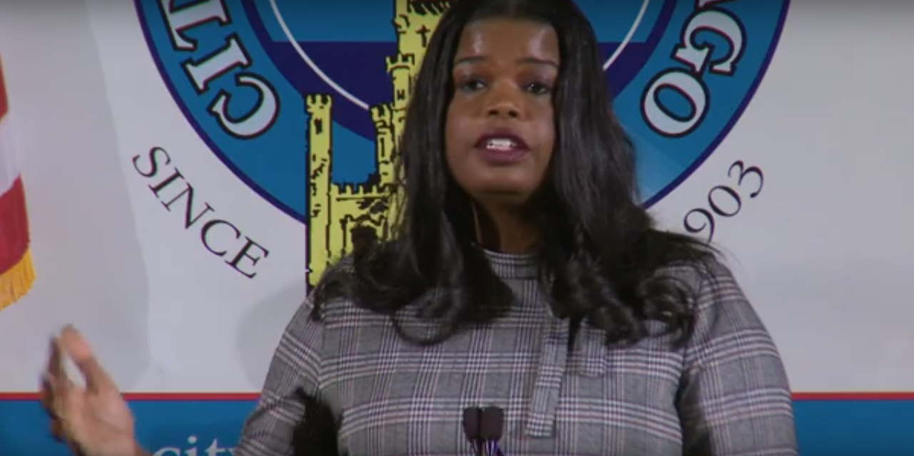 Cook County State's Attorney Kim Foxx