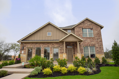 M/I Home's Belmont model is open for tours in Buda's White Oak Preserve.