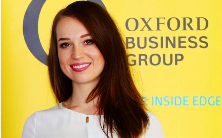 Nekia Lane, director for Sharjah Oxford Business Group