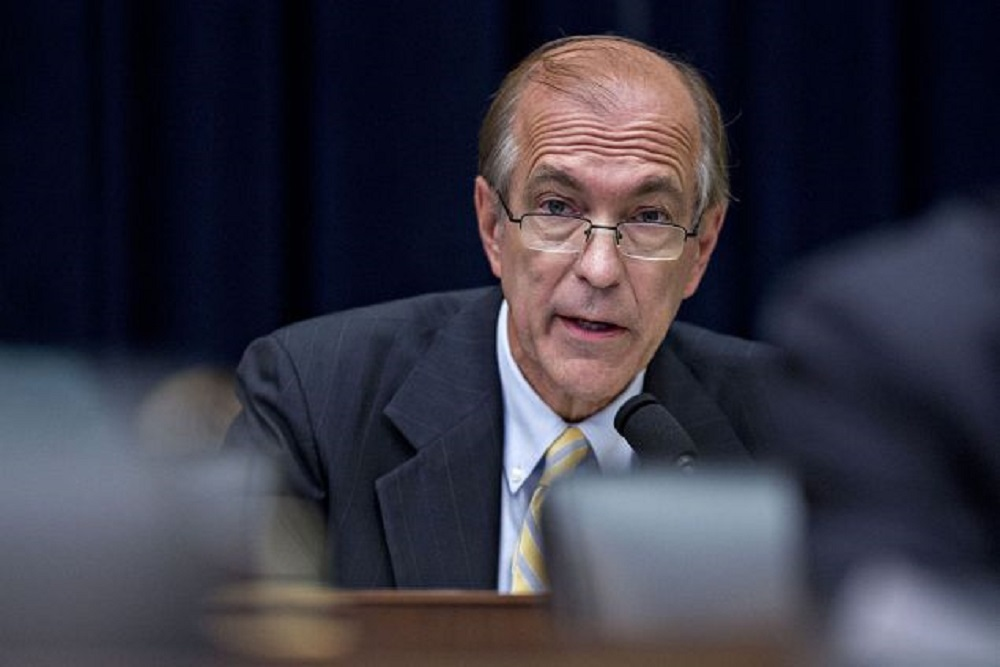 Scott Garrett is President Donald Trump's lead choice for Export-Import Bank president.