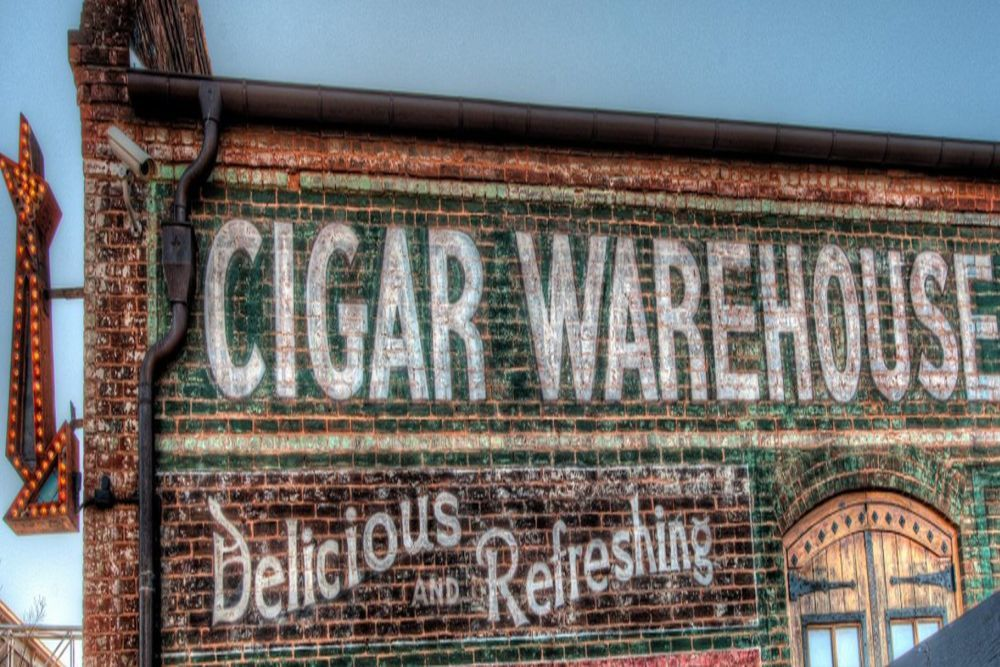 The Old Cigar Warehouse is at 912 S. Main St. across from Fluor Field in the West End.