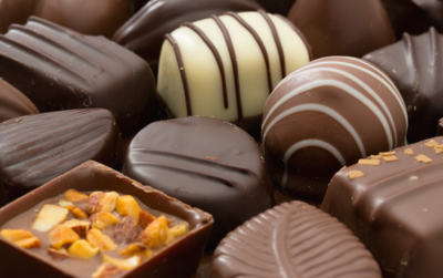 DHL celebrates 15 years of transporting chocolates to America.