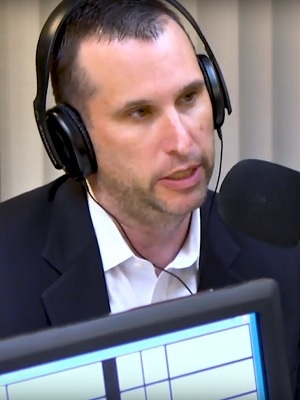 Pat Hughes, co-host of the Conservative radio talk show Illinois Rising