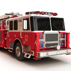 Medium firetruck