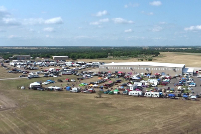 The Ribs and Rods show in Temple drew 300 cars and 79 cooking teams in 2017.