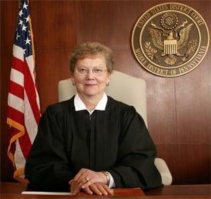 U.S. District Judge Sylvia Rambo