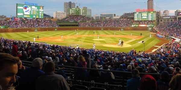 Large wrigley field