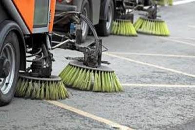 Medium streetsweeping