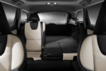 The ample interior of the TheThe XC60 makes for a comfortable ride.