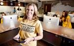 Business school instructor Bernadette Lonzanida was named professor of the year.