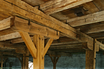 Pier and beam foundations used to be the standard, and are still in use in homes today.
