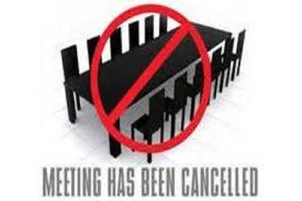 Cancelmeeting