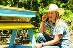 Homesteading ranks high in Liberty Hill, from local honey products to organic crops.