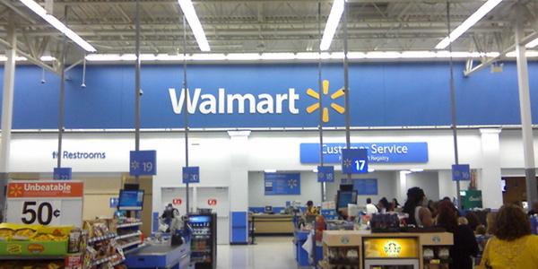 Large remodeled walmart