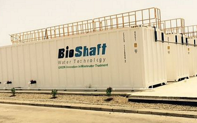 BioShaft Water Technology has announced plans to fulfill three new Middle East contracts.