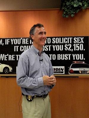 Cook County Sheriff Tom Dart