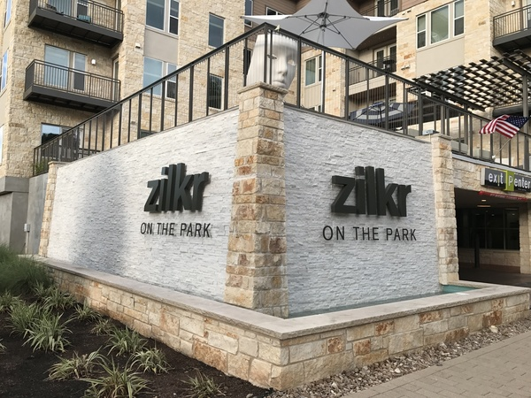The new face of Zilkr on the Park.