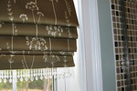 Roman shades are a unique and stylish option for window coverings.