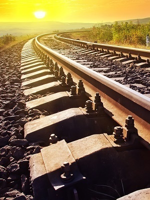 Large railroad