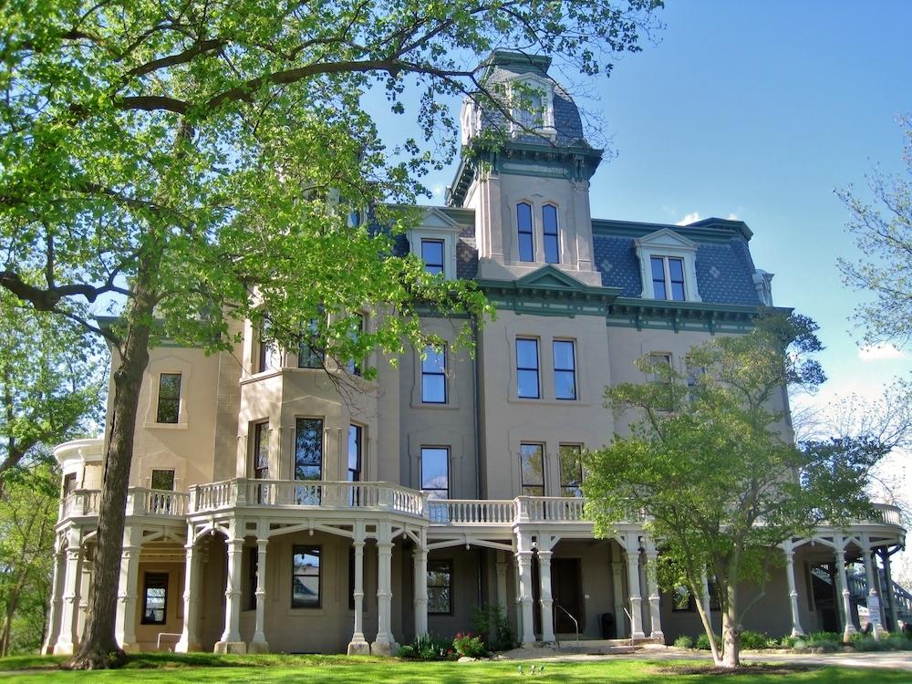 The Hegeler Carus Mansion in LaSalle, Illinois