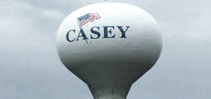 Casey watertower
