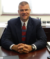 Dr. Lane Abrell, Superintendent of Schools,  Plainfield School District 202