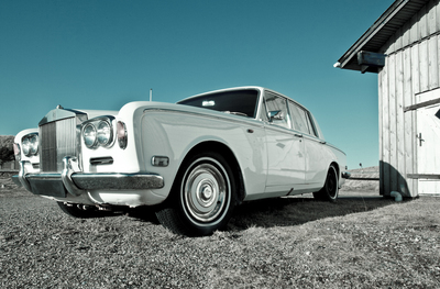 Texas has many fans of classic British sporty and luxury cars, including the Rolls Royce.