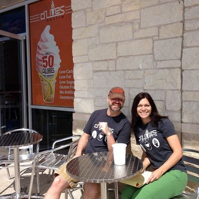 Brian and Courtney Heinz are delighted to offer a healthier version of ice cream.
