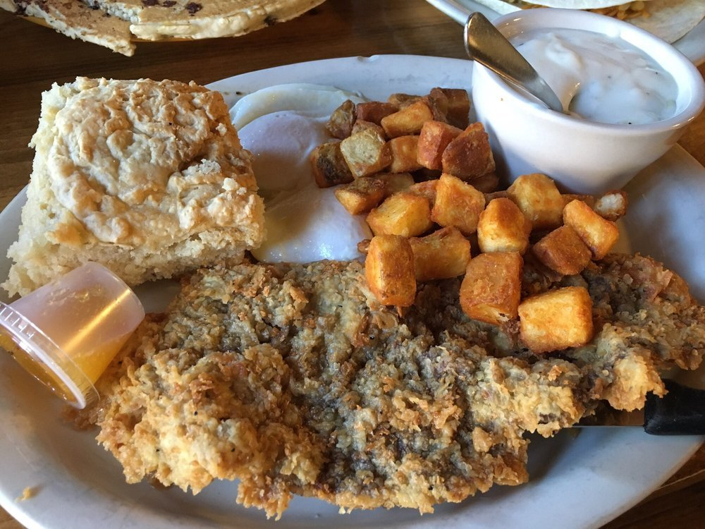 Maxine's Cafe's chicken fried steak was a runner up in the Best of Bastrop voting.