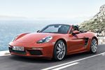 Perhaps a little surprising is that despite going to four-cylinder engines from the previous six-cylinders, the 718 Boxster is about 50 pounds heavier.