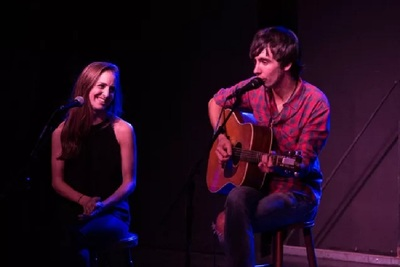 Billboard top country music star Mo Pitney plays the Balcony Stage accompanied by wife Emily in September.