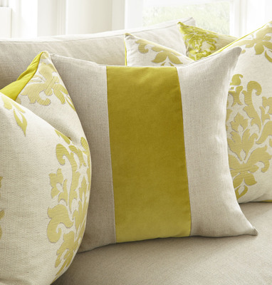 The Ming Collection is one of the hottest sellers for Austin-based manufacturer Square Feathers Home.