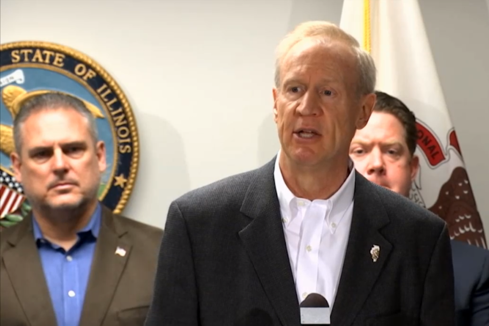 Gov. Bruce Rauner: Democrats dislike the governor because he