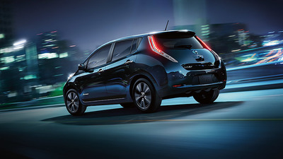 All-electric Nissan LEAF makes itself known in the compact market.