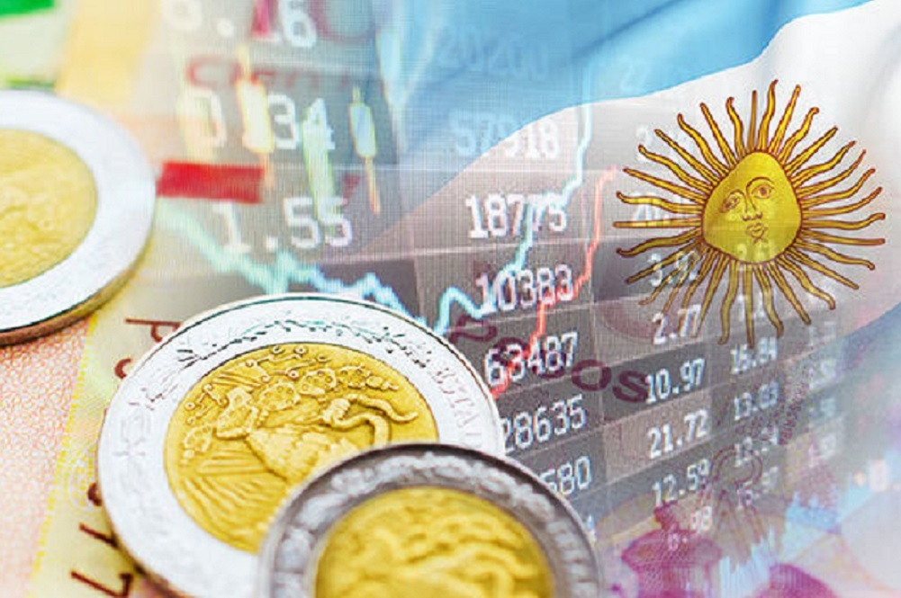 The Argentine economy is still contracting and remains vulnerable to shifts in market sentiment.
